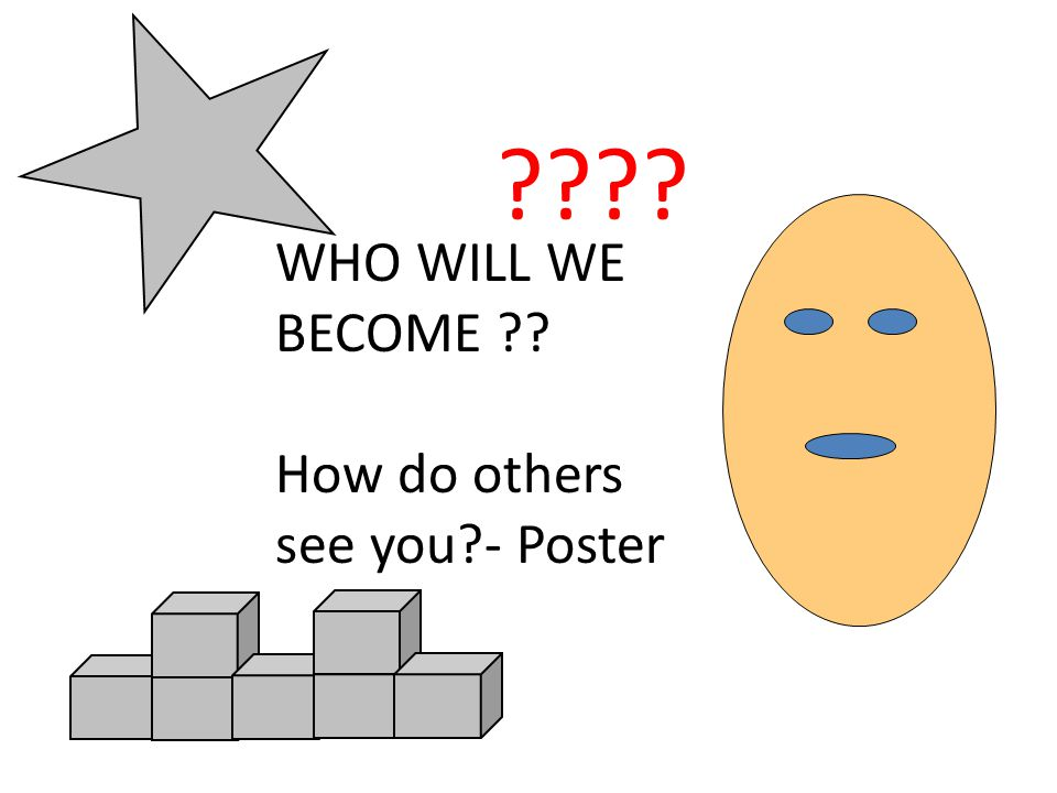 WHO WILL WE BECOME How do others see you - Poster