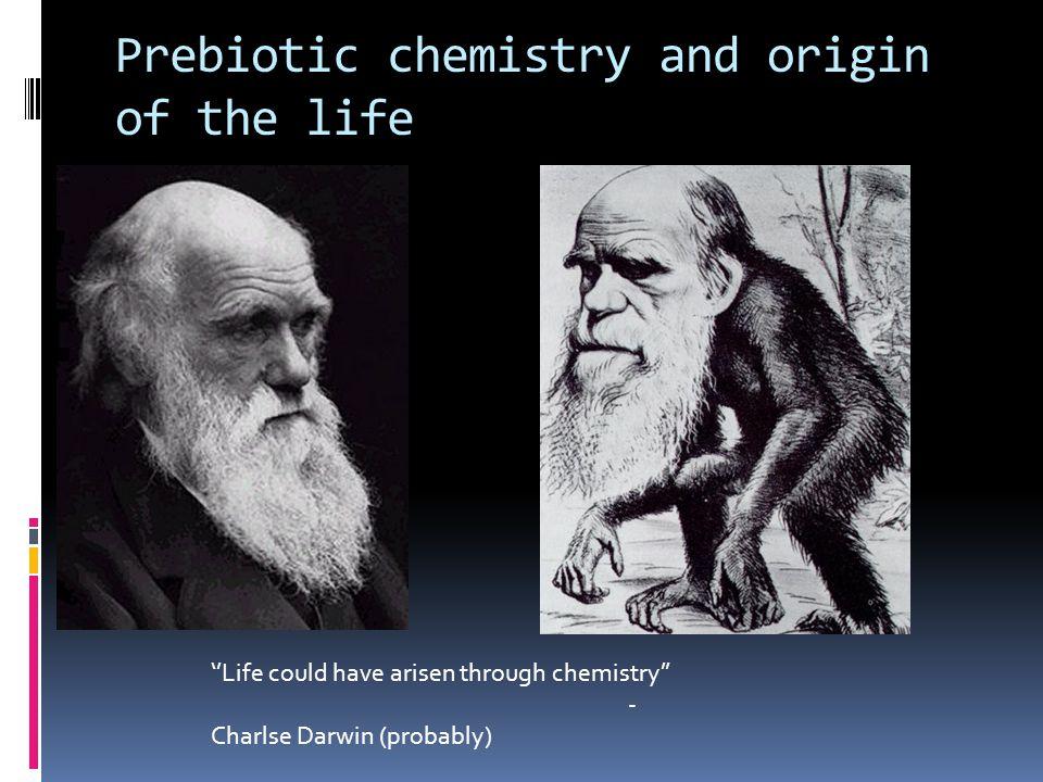 Miller-Urey's experiments on pre-biotic chemistry in 1953