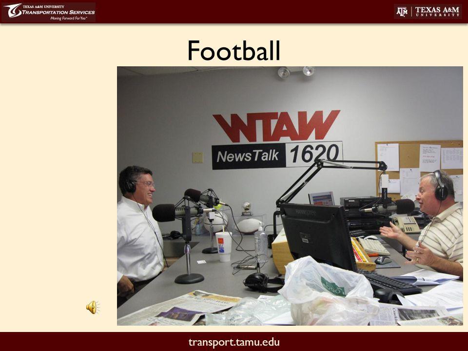 transport.tamu.edu Football
