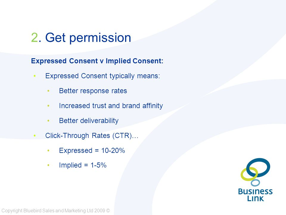 Copyright Bluebird Sales and Marketing Ltd 2009 © 2.