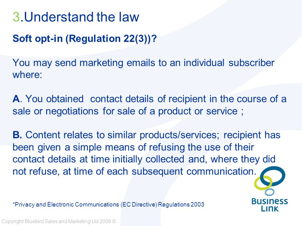 Copyright Bluebird Sales and Marketing Ltd 2009 © 15.