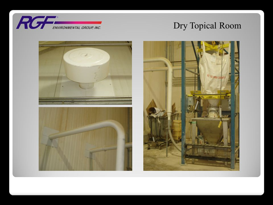 Dry Topical Room