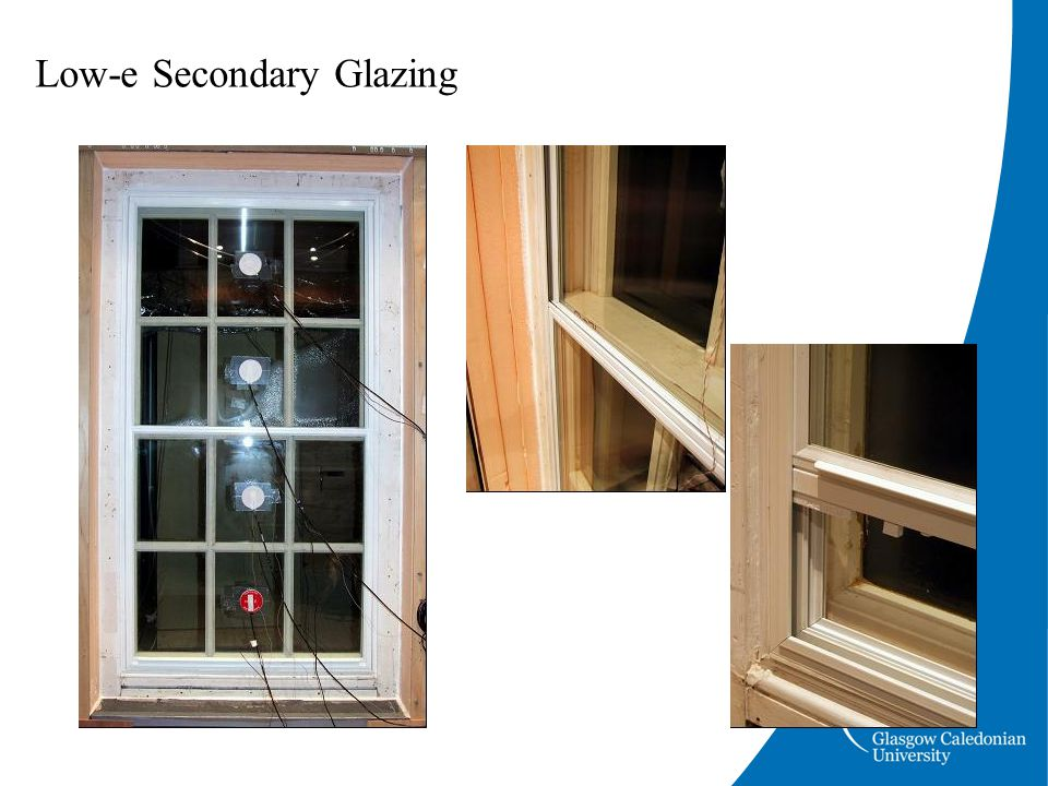 Low-e Secondary Glazing