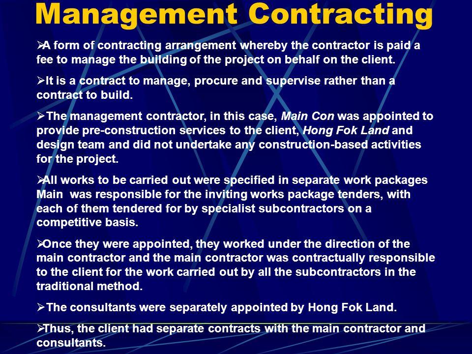 Nominated Subcontractor (NSC) Exterior Cladding : PD Manufacturing Pte Ltd Air-conditioning : Cofreth (S'pore) Pte Ltd Lifts : OTIS Plumbing & Sanitar