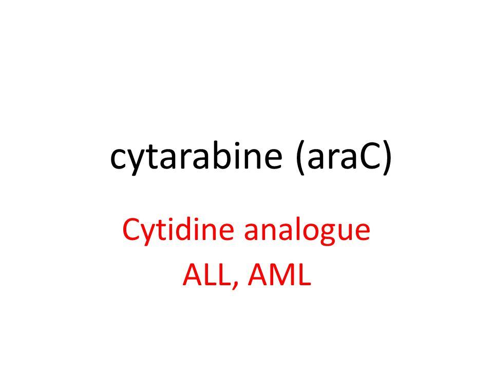 thioguanine Guanine analogue AML Watch myelosuppression and GI perforation