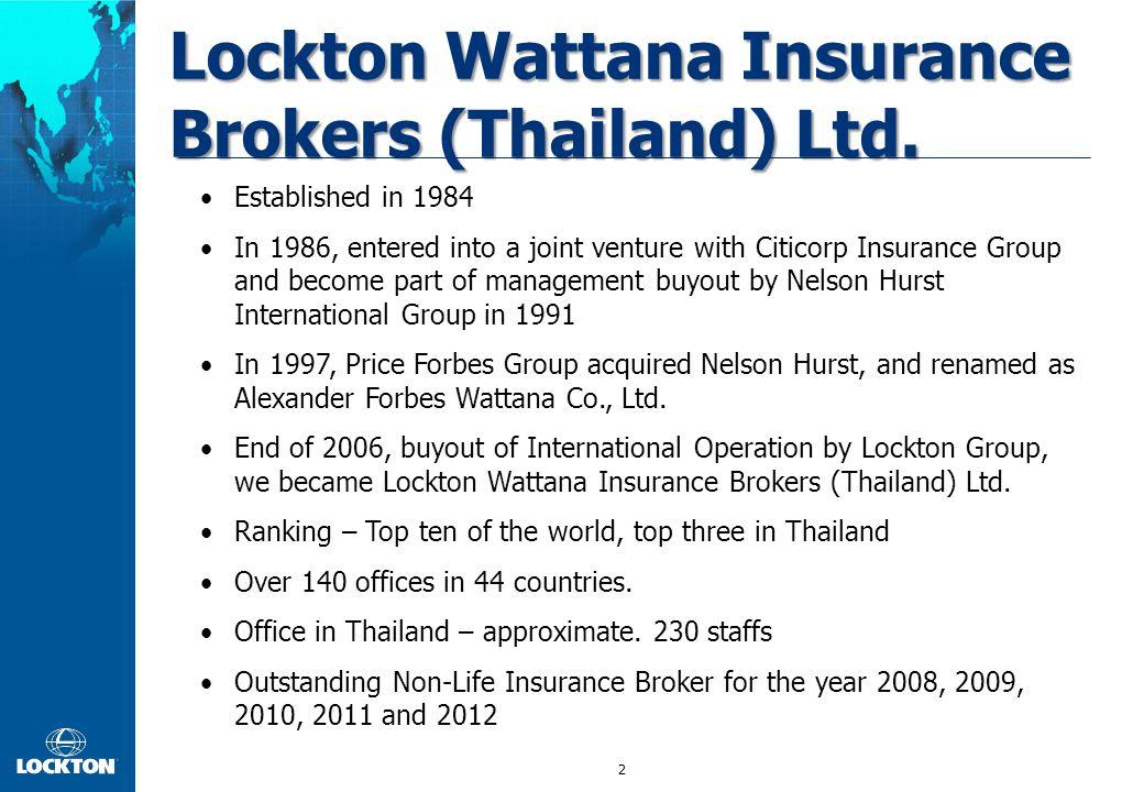 2 Lockton Wattana Insurance Brokers (Thailand) Ltd.