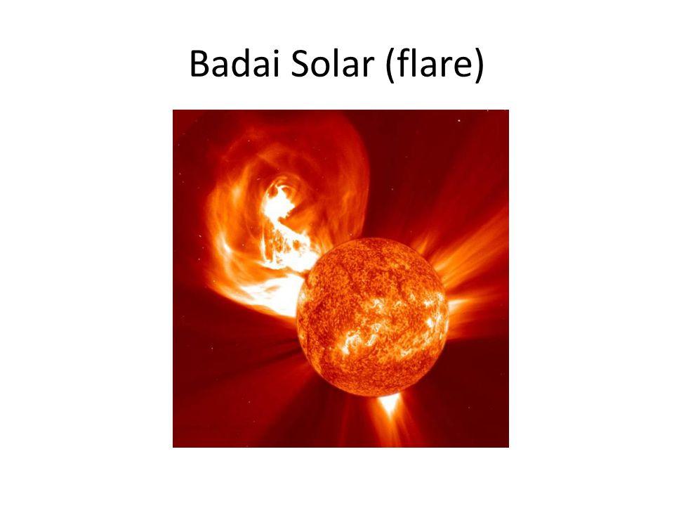 Badai Solar (flare)