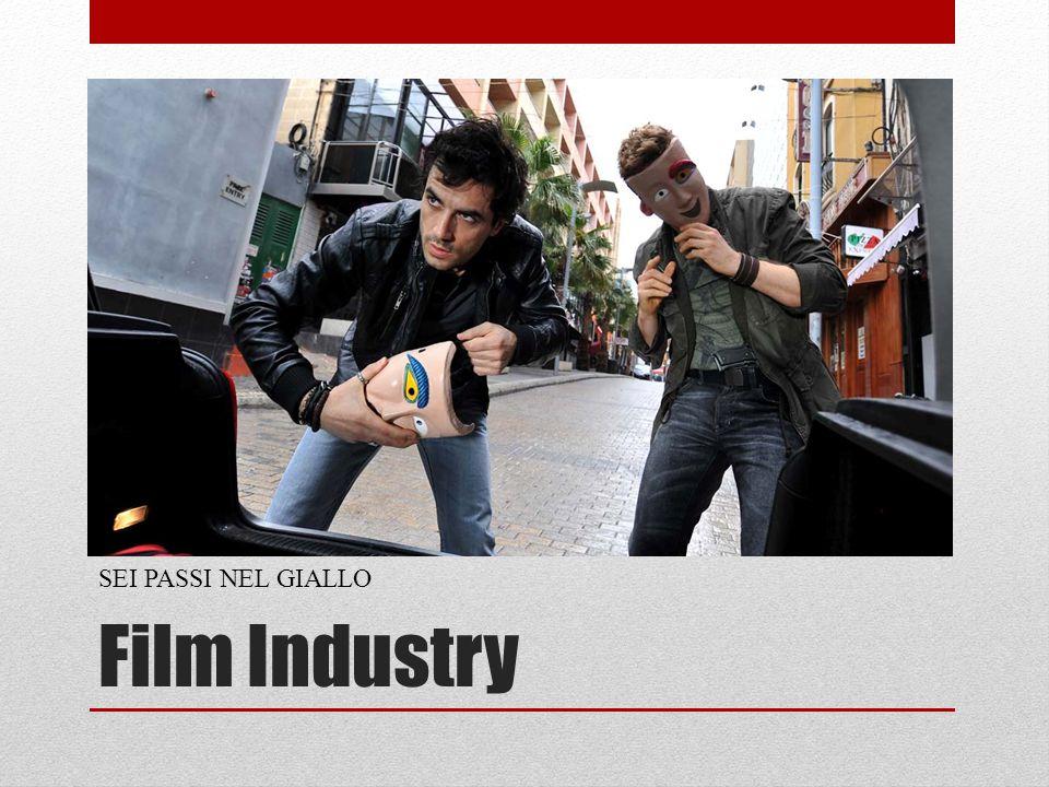 Film Industry SEI PASSI NEL GIALLO