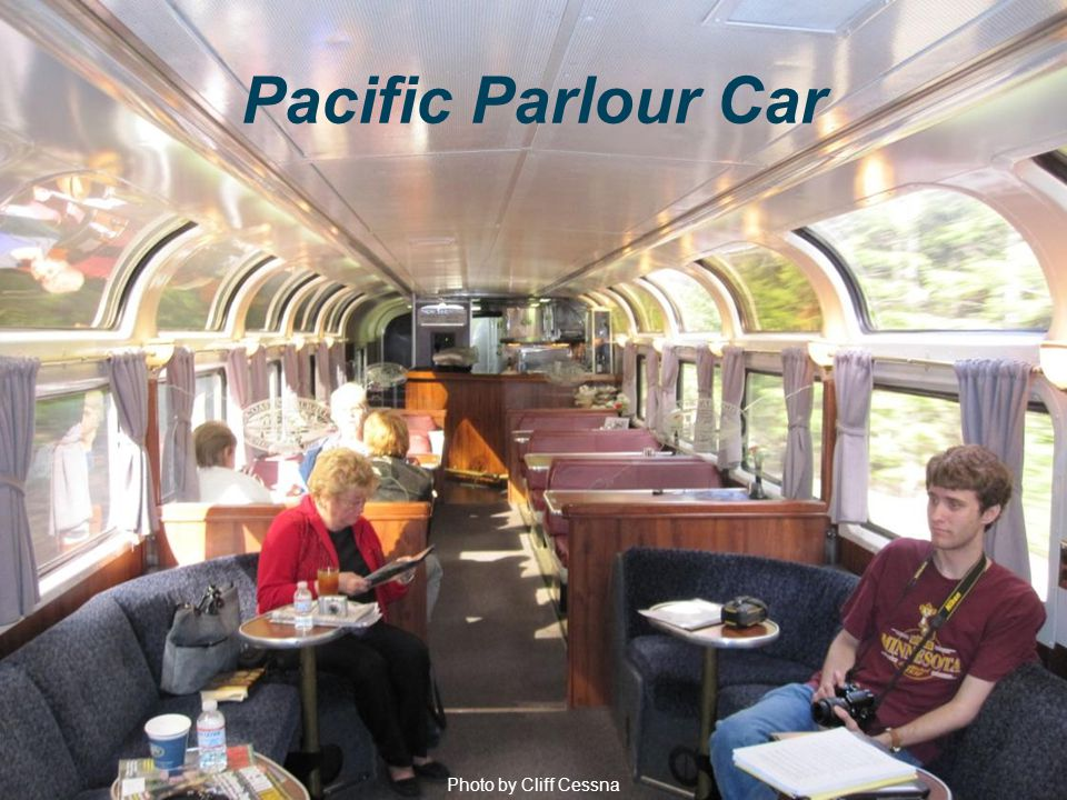 Photo by Cliff Cessna Pacific Parlour Car