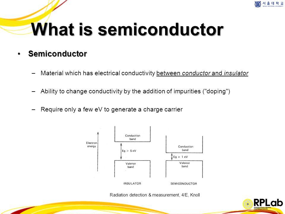 ① N-type semiconductor