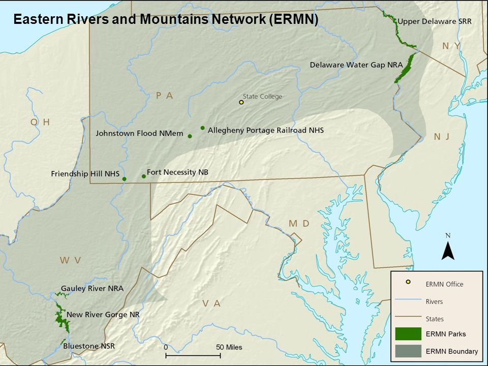 Eastern Rivers and Mountains Network (ERMN)
