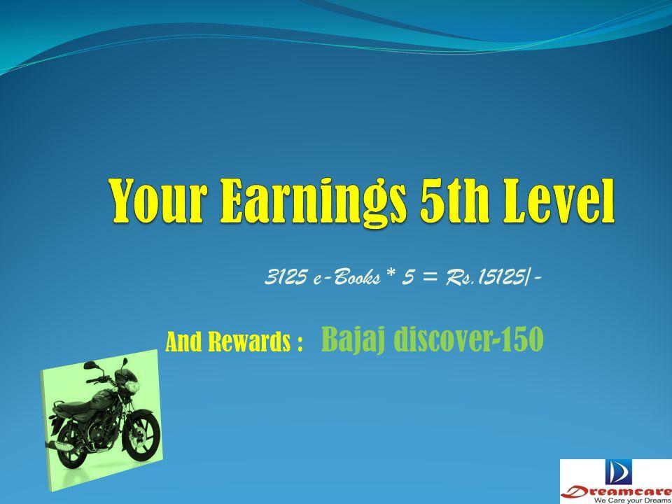 625 e-Books * 5 = Rs.3125/- And Rewards : Mini Lap top
