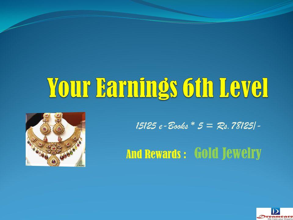3125 e-Books * 5 = Rs.15125/- And Rewards : Bajaj discover-150