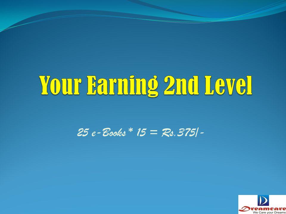 5 e-Books * 20 = Rs.100/-
