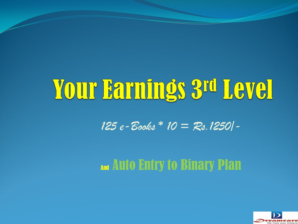 125 e-Books * 10 = Rs.1250/- And Auto Entry to Binary Plan