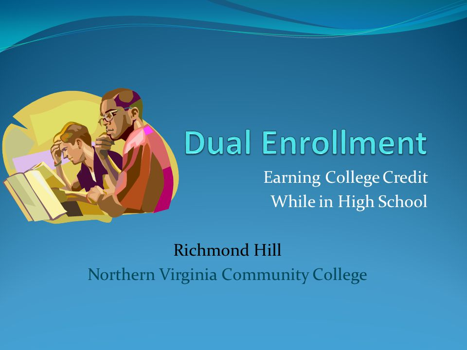 What is dual enrollment.