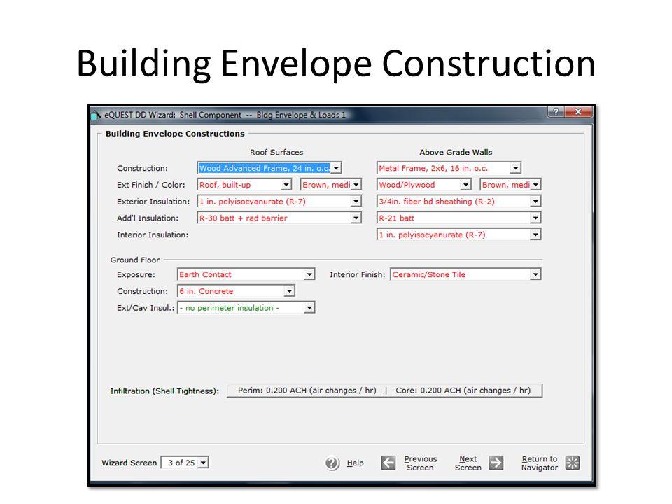 Building Envelope Construction