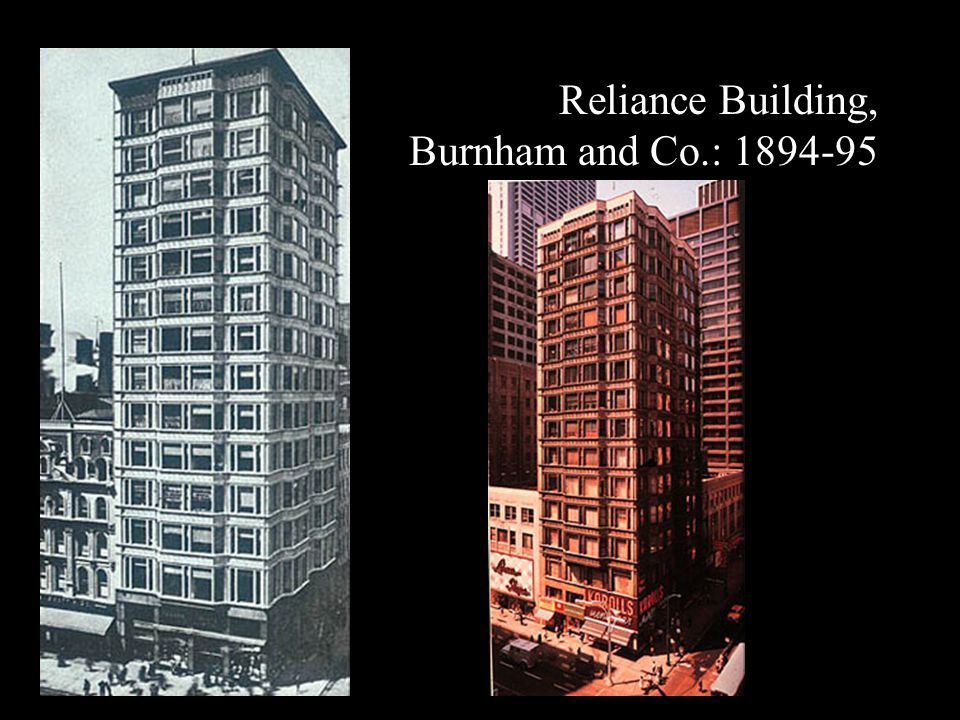 Reliance Building, Burnham and Co.: 1894-95