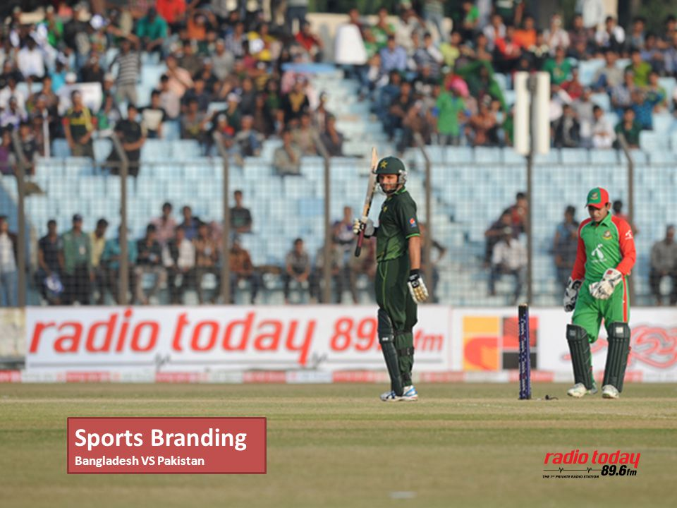 Sports Branding Bangladesh VS Pakistan