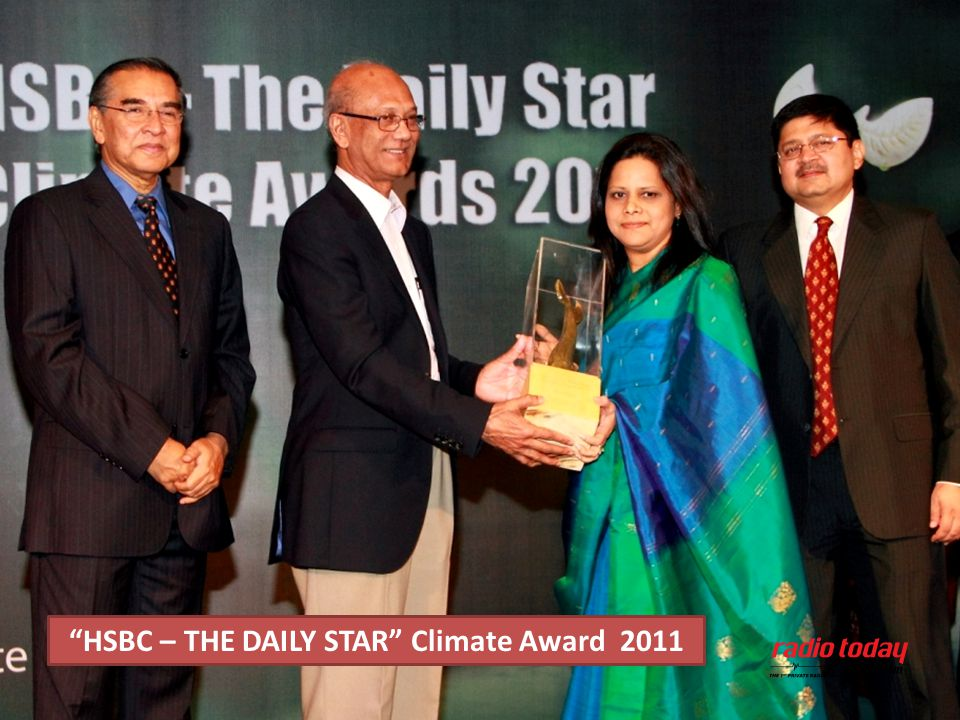 HSBC – THE DAILY STAR Climate Award 2011