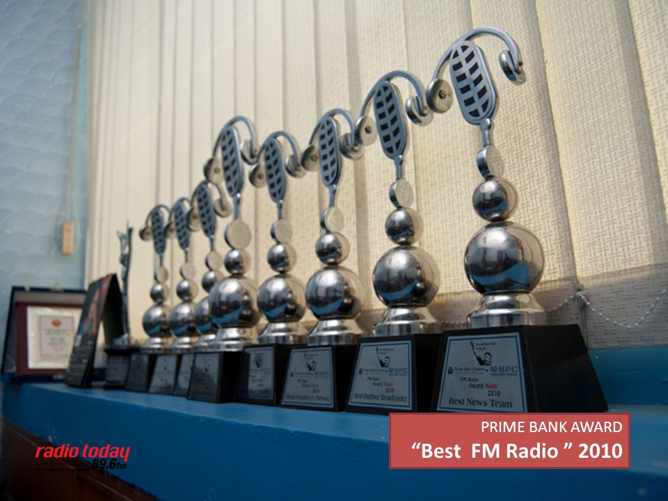 PRIME BANK AWARD Best FM Radio 2010