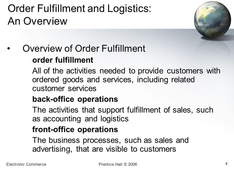 Electronic CommercePrentice Hall © 2006 5 Exhibit 13.1 E-Commerce Services