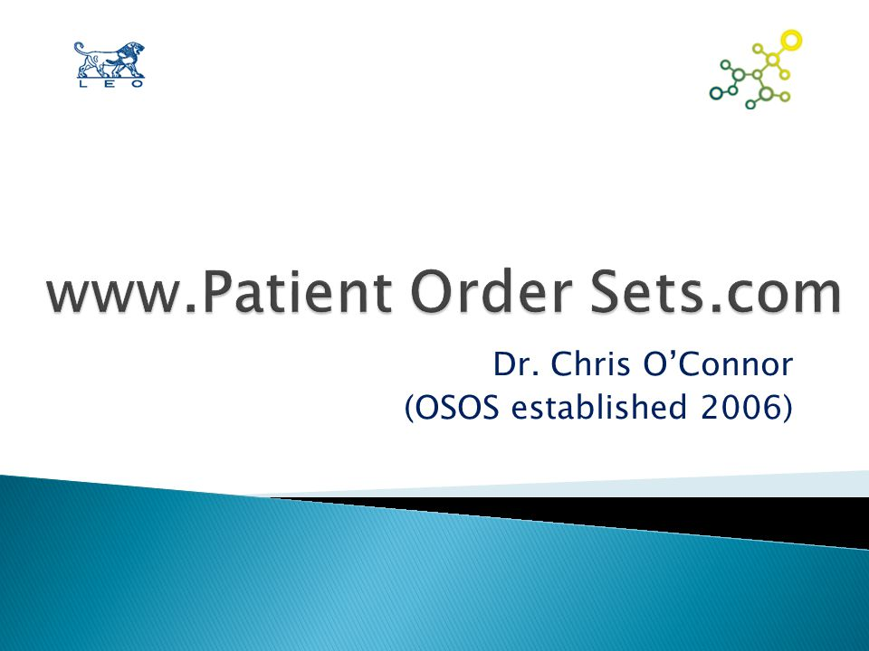 Institutional Advantages to POS  Standardizes treatment protocol for patients -> provides consistency  √ hospital safety standards = Accreditation  Supports Canadian Rx Standards (CHEST)  Reduces prescribing errors  Reduces length of stay and re-admissions  Reduces workload  Used as cost-control mechanism  ≠ Legal liability of treating Clinician and Staff
