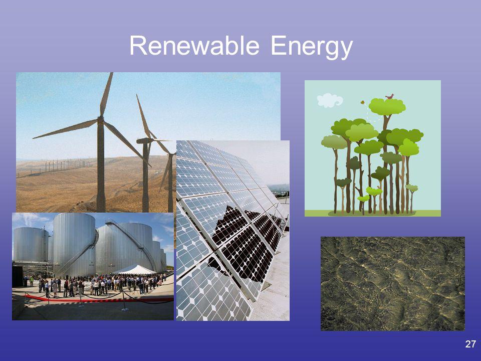 27 Renewable Energy