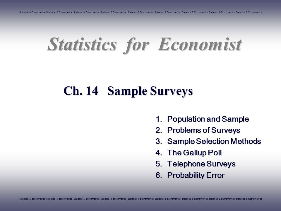 Statistics & Econometrics Statistics & Econometrics Statistics & Econometrics Statistics & Econometrics Statistics & Econometrics Statistics & Econometrics Statistics & Econometrics Statistics & Econometrics Statistics & Econometrics STATISTICS 22/26 others  Other factors that can affect political tendency are included.