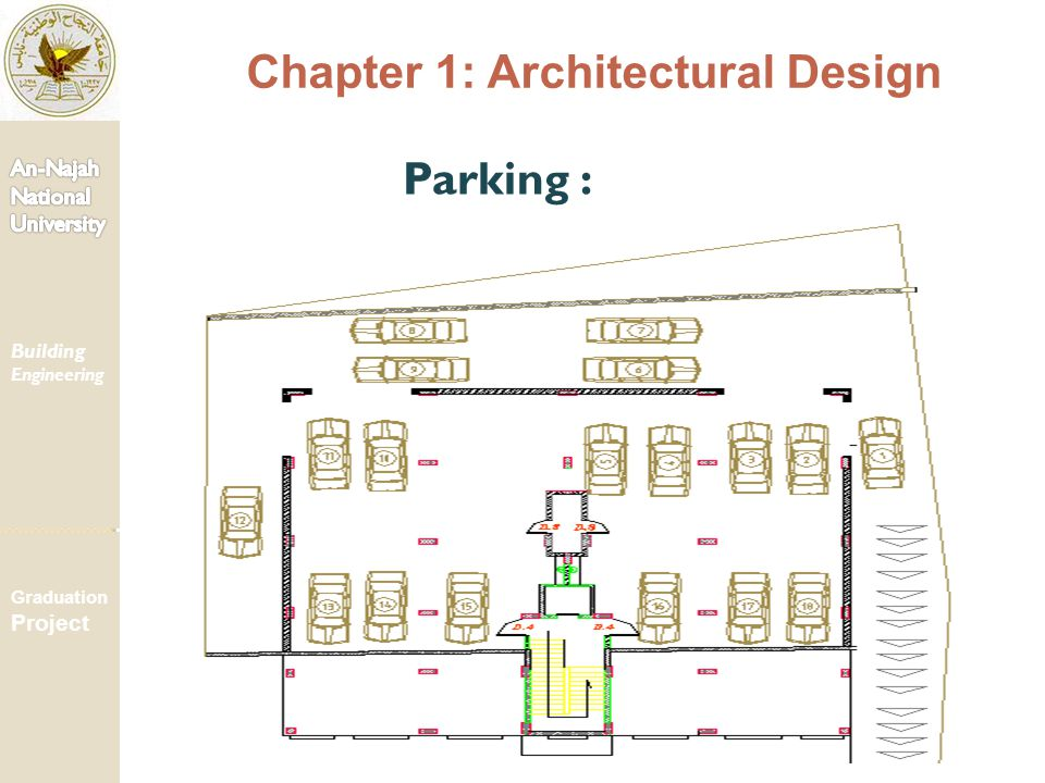 Parking : Chapter 1: Architectural Design Building Engineering Graduation Project