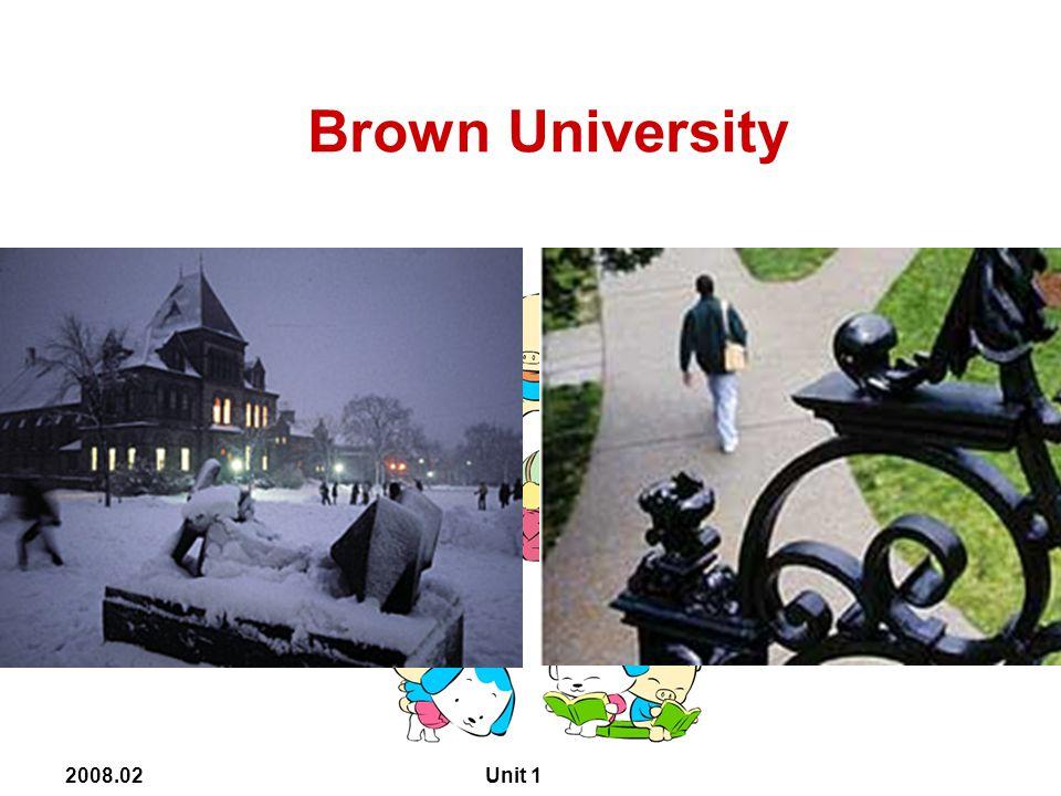 2008.02 Unit 1 Columbia University
