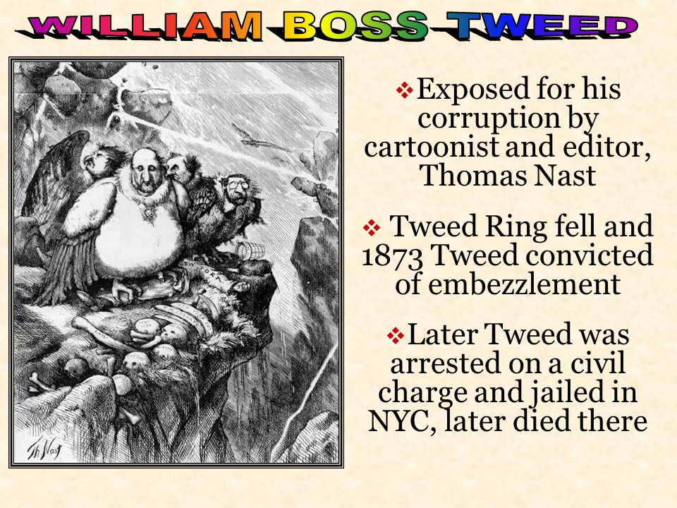  Thomas Nast was the artist for Harper's Weekly in the late 1800's. 
