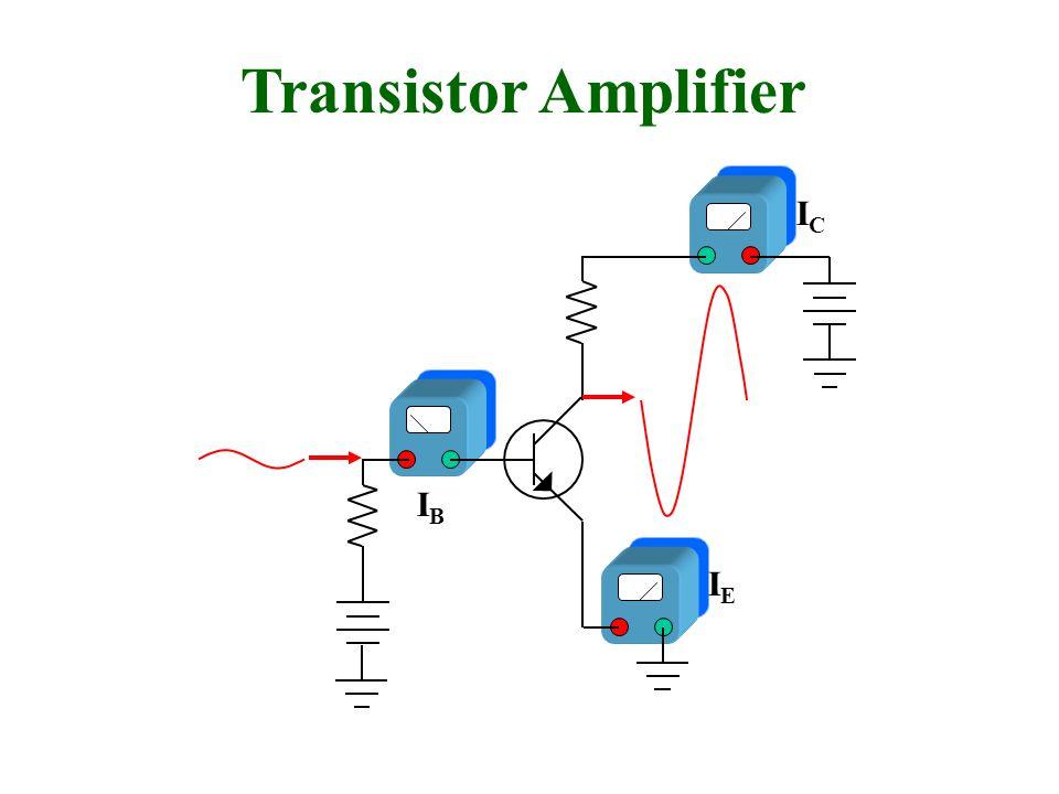 Transistor Amplifier IEIE ICIC IBIB