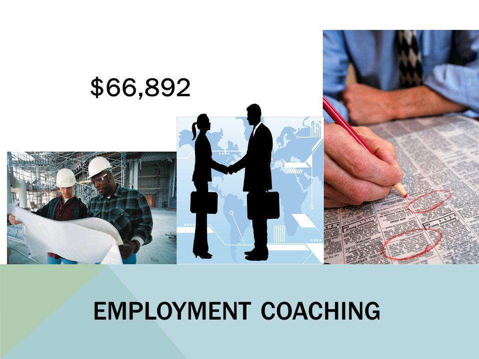 EMPLOYMENT COACHING $66,892