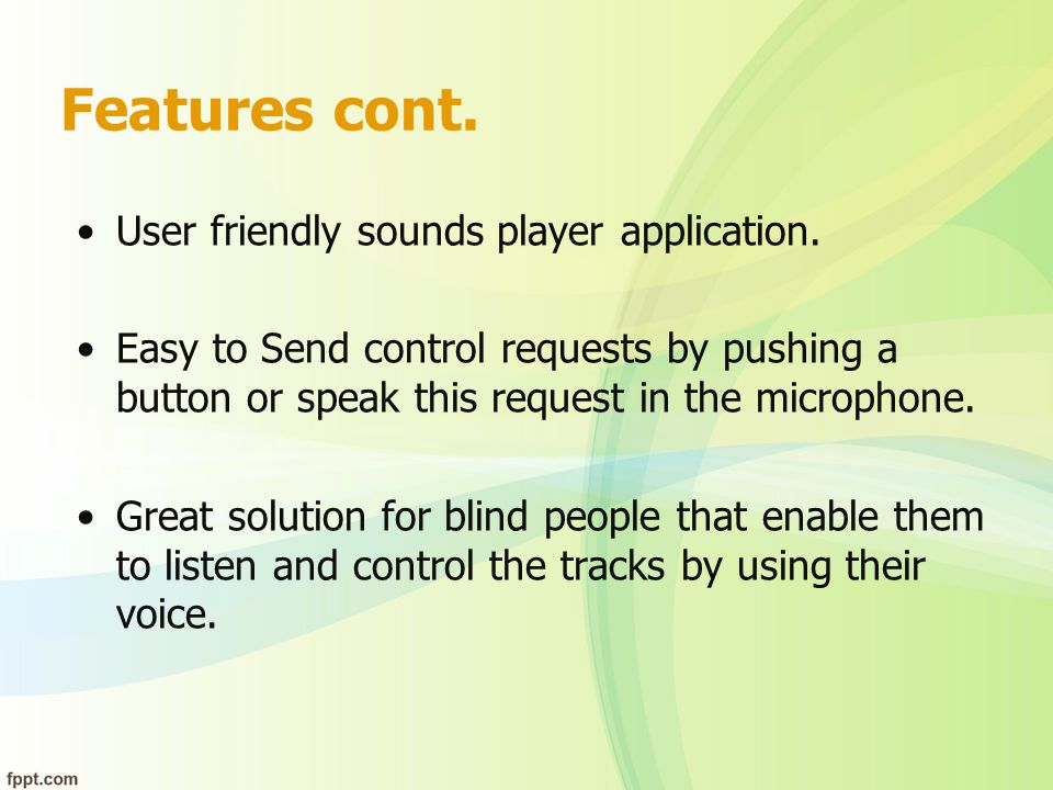 How does wireless headphone work.The user open sound player.