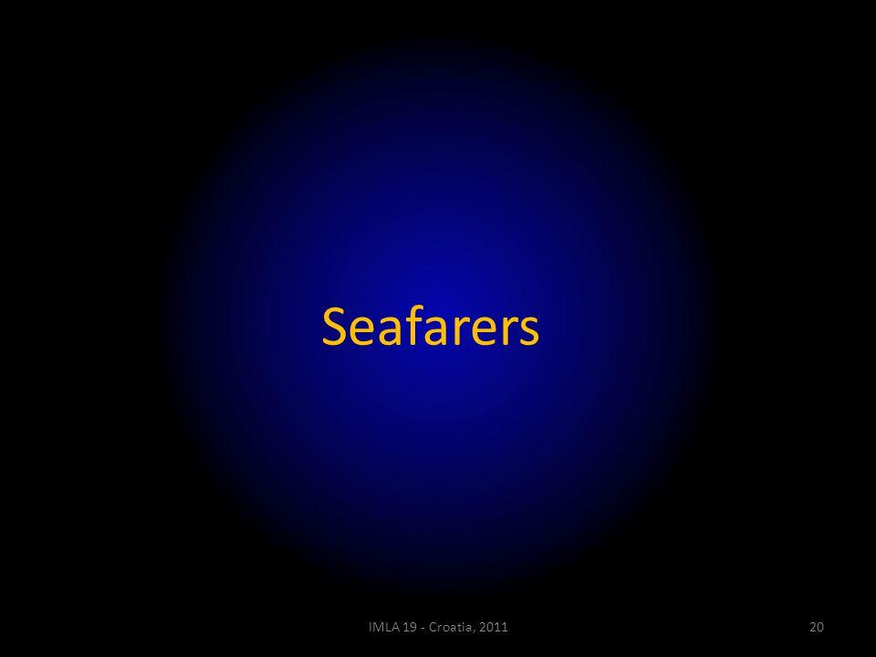 Seafarers IMLA 19 - Croatia, 201120
