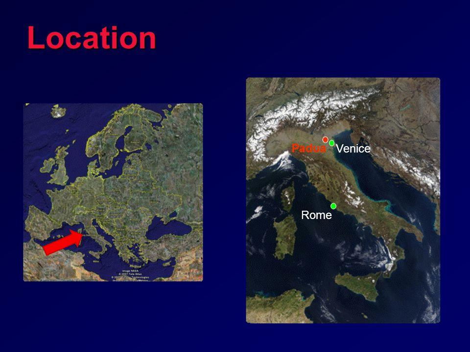 Rome VeniceLocation