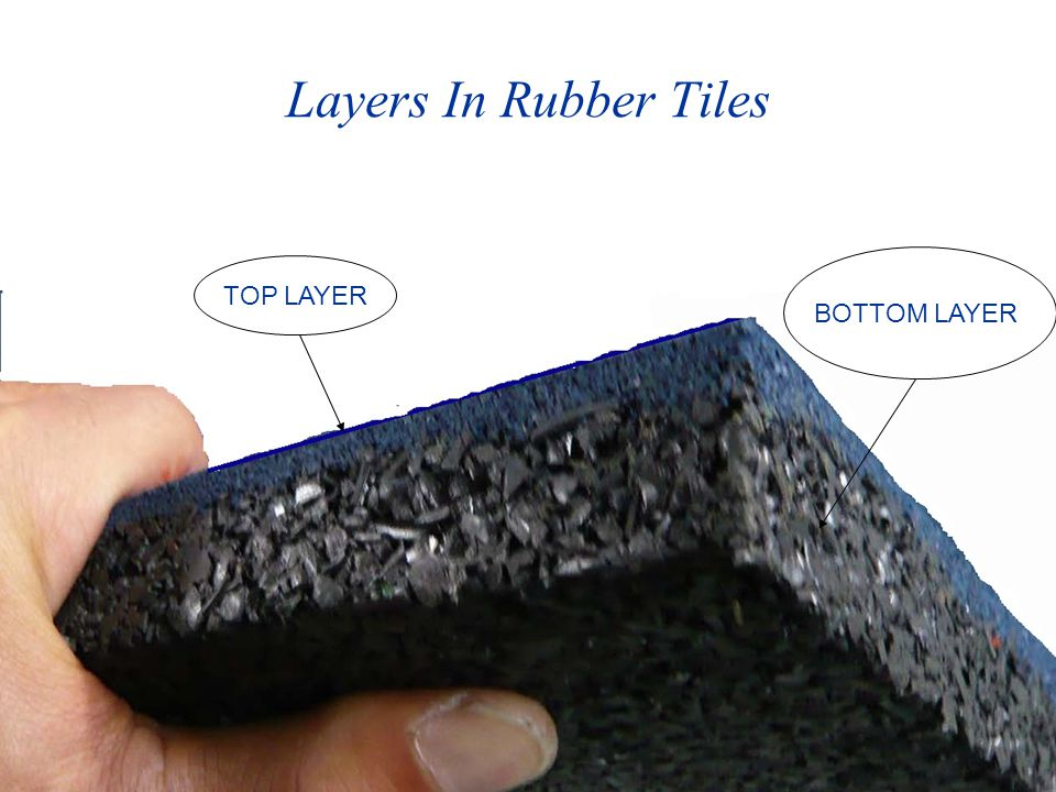Composition Of Top Layer TOP surface layer is mixed with dyeing granules