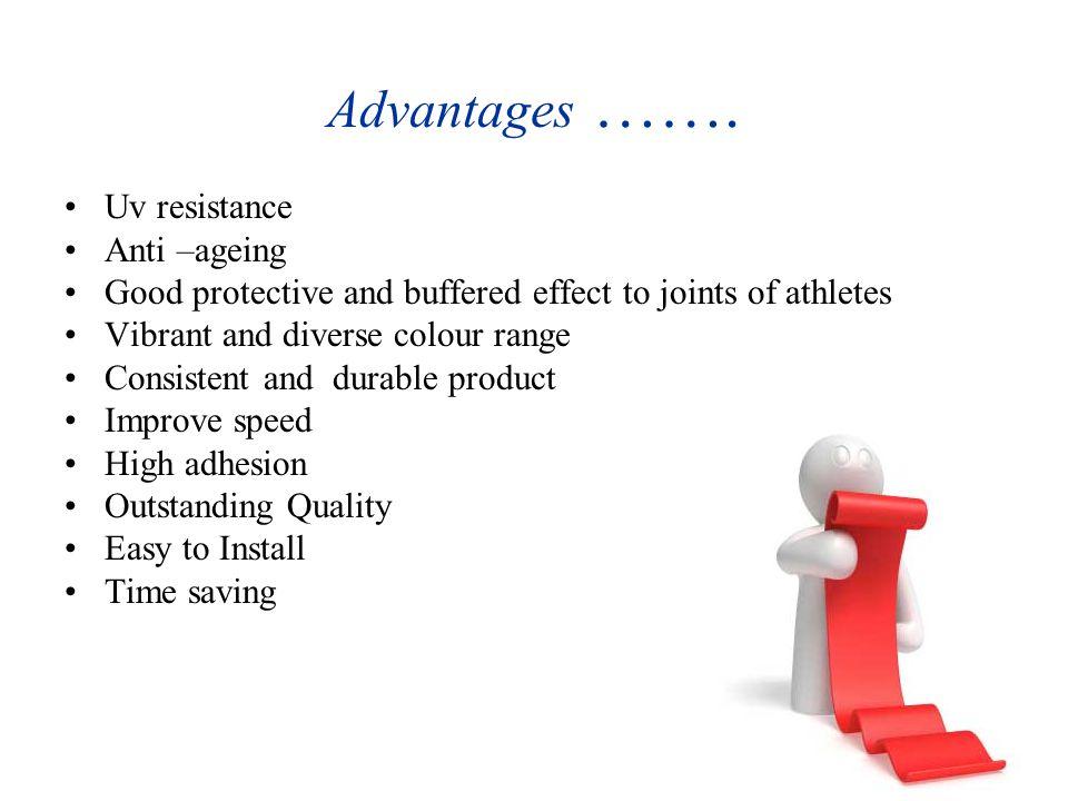 Advantages …….