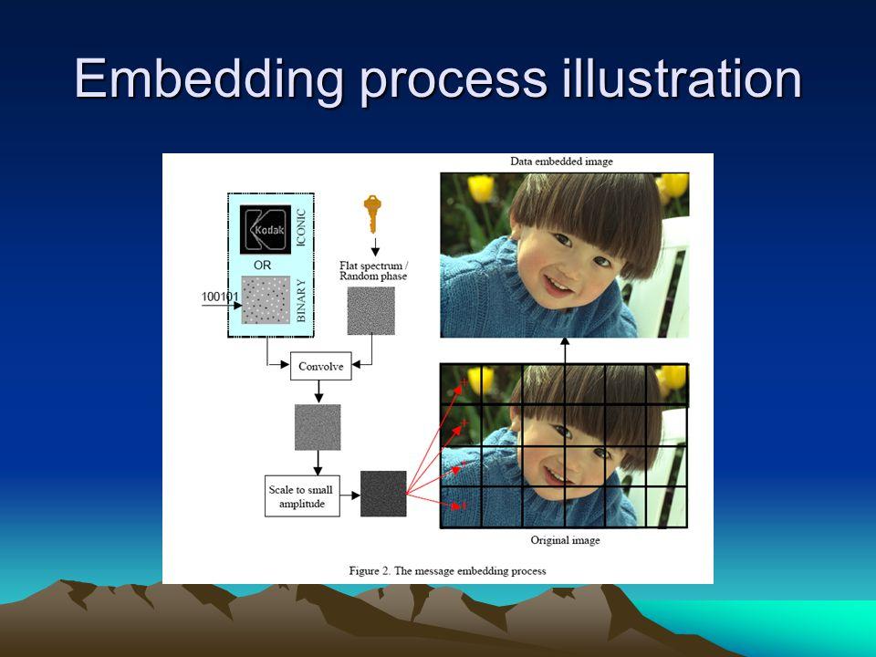 Embedding process illustration