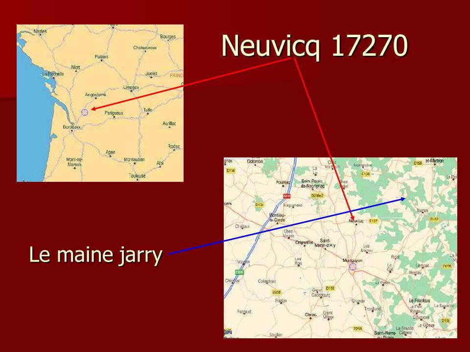 Neuvicq 17270 Le maine jarry