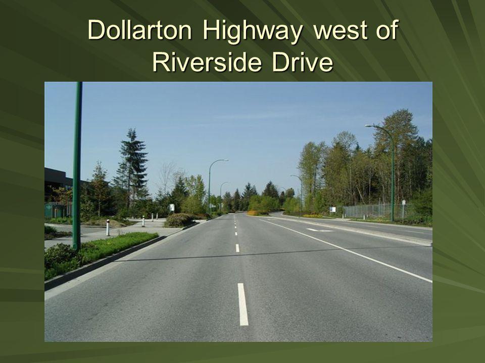 Dollarton Highway west of Riverside Drive