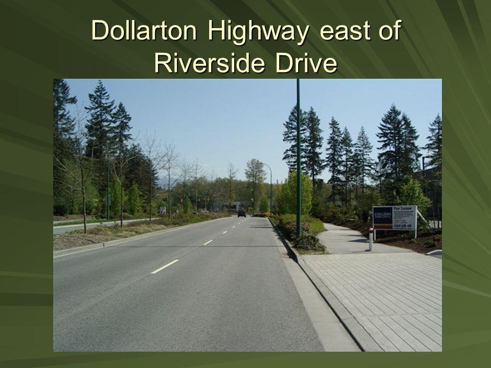 Dollarton Highway east of Riverside Drive