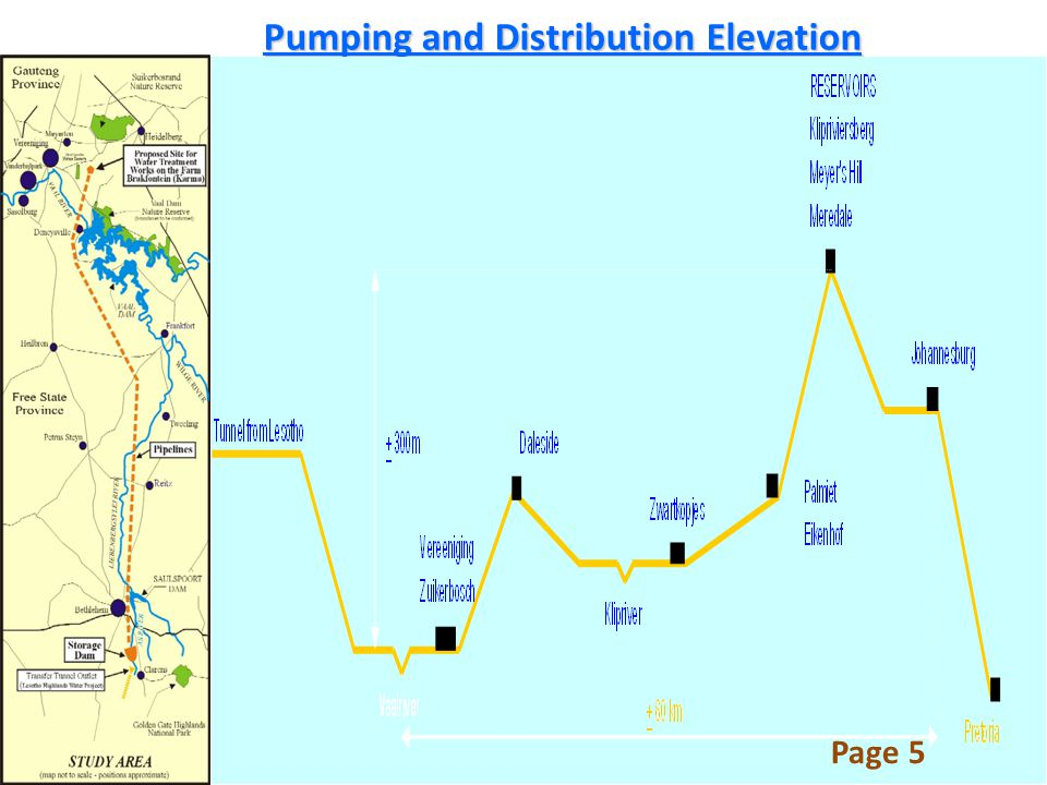 Pumping and Distribution Elevation Page 5