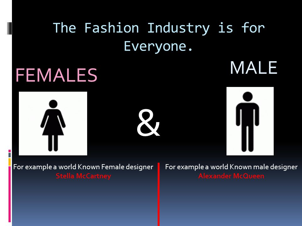 The Fashion Industry is for Everyone.