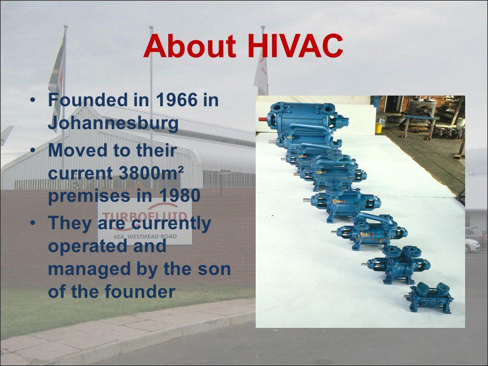 HIVAC VACUUM PUMPS