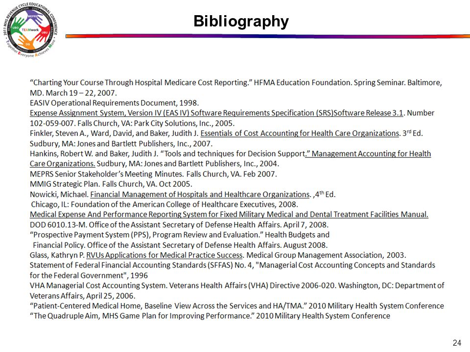 Bibliography 24
