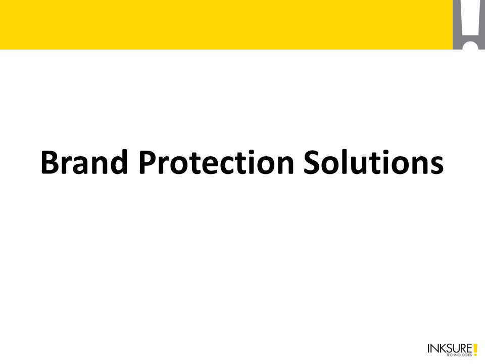 Brand Protection Solutions