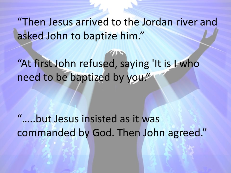 Luke 4:1-4 Jesus, full of the Holy Spirit, returned from the Jordan and was led around by the Spirit in the wilderness For forty days, being tempted by the devil.