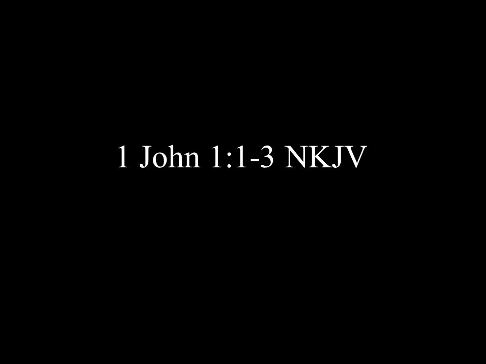 1 Behold, what manner of love the Father hath bestowed upon us, that we should be called the sons of God: therefore the world knoweth us not, because it knew him not.
